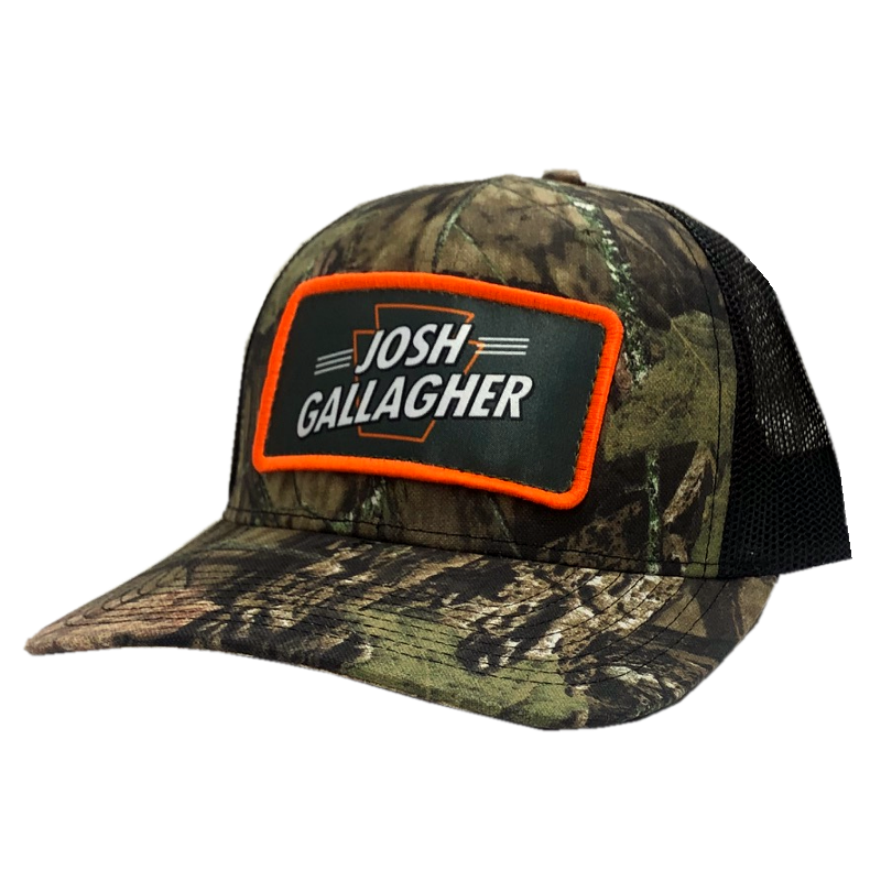 Josh Gallagher Camo and Black Ballcap