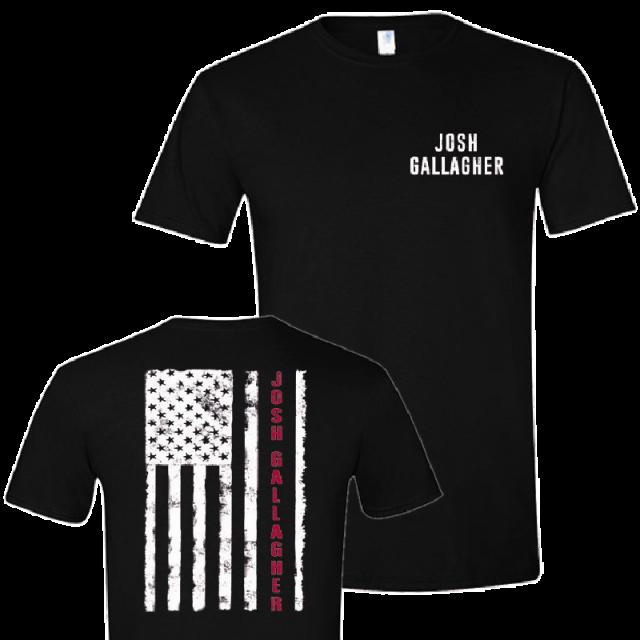 Josh Gallagher Black Flag Tee