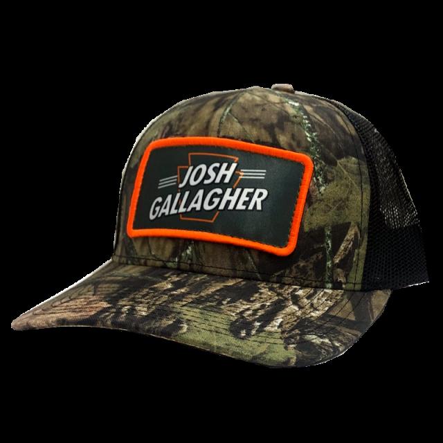 Josh Gallagher Camo and Black Ballcap