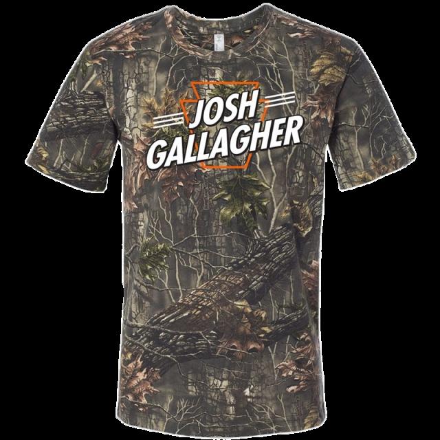 Josh Gallagher Camo Tee